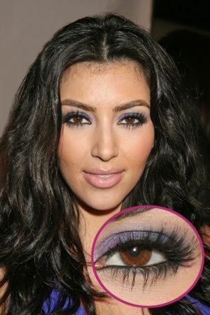 gunmetal smokey eyes like kim kardashian
